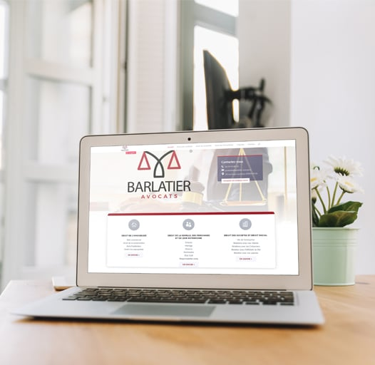 creation site internet Lyon irigny Barlatier avocats