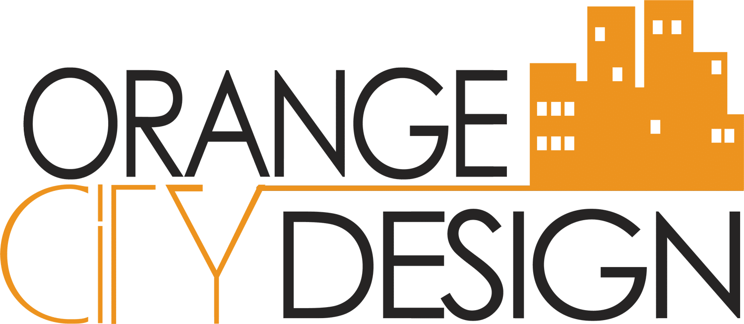 logo orange city design