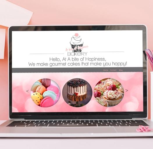 creation site internet cupcake